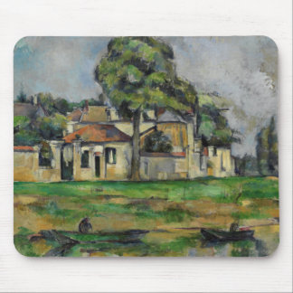 Paul Cezanne - Banks of the Marne Mouse Pad