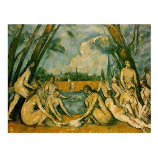 Paul Cezanne - Bathers Postcard