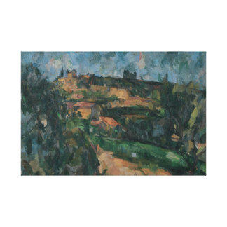Paul Cezanne - Bend Of The Road Canvas Print