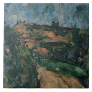 Paul Cezanne - Bend Of The Road Ceramic Tiles