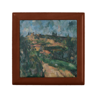 Paul Cezanne - Bend Of The Road Jewelry Box