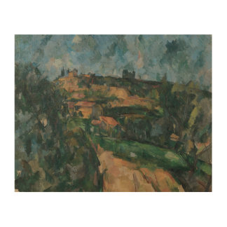 Paul Cezanne - Bend Of The Road Wood Canvases