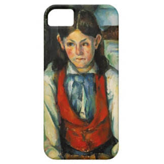 Paul Cezanne- Boy in a Red Vest iPhone 5 Case