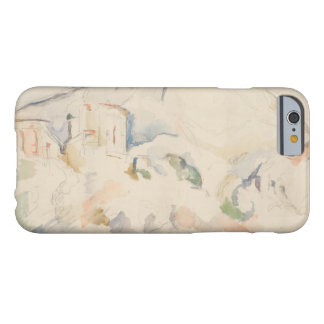 Paul Cezanne-Chateau Noir and Mont Sainte-Victoire Barely There iPhone 6 Case