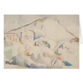 Paul Cezanne-Chateau Noir and Mont Sainte-Victoire Card