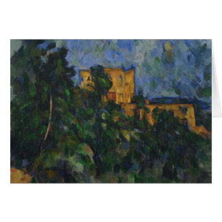 Paul Cezanne - Chateau Noir Card