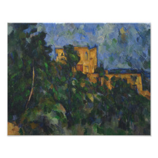 Paul Cezanne - Chateau Noir Photograph