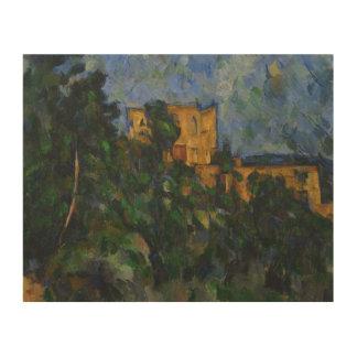 Paul Cezanne - Chateau Noir Wood Print