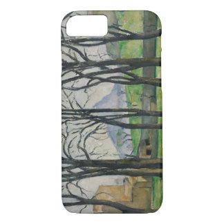 Paul Cezanne - Chestnut Trees at Jas de Bouffan iPhone 7 Case