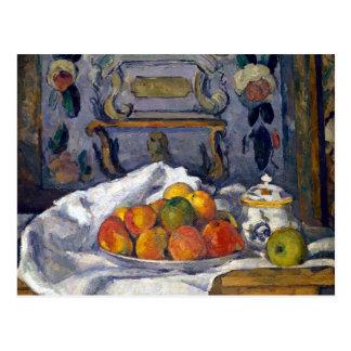 Paul Cezanne Dish of Apples Postcard