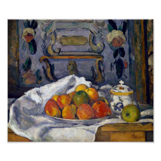 Paul Cezanne Dish of Apples Poster