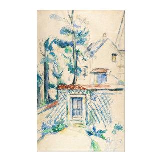 Paul Cezanne Entrée de Jardin Canvas Print