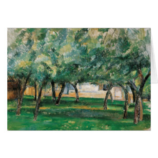 Paul Cezanne - Farm in Normandy Card