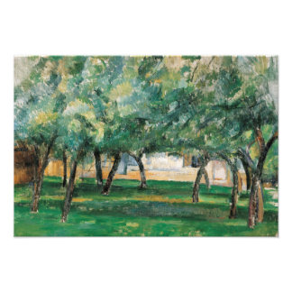 Paul Cezanne - Farm in Normandy Photographic Print