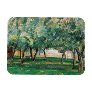Paul Cezanne - Farm in Normandy Rectangular Photo Magnet