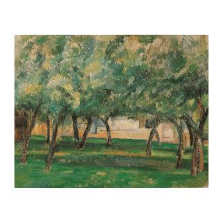 Paul Cezanne - Farm in Normandy Wood Print