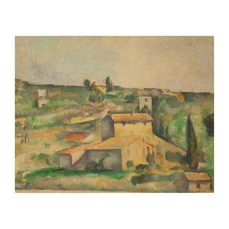 Paul Cezanne - Fields at Bellevue Wood Prints