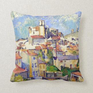 Paul Cezanne Gardanne Throw Pillow