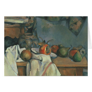 Paul Cezanne - Ginger Pot with Pomegranate Card
