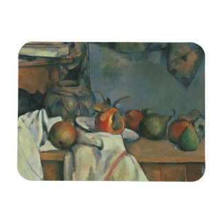 Paul Cezanne - Ginger Pot with Pomegranate Rectangular Photo Magnet