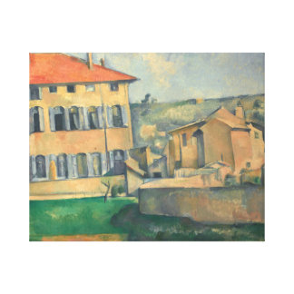 Paul Cezanne - House in Aix Canvas Print