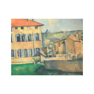Paul Cezanne - House in Aix Canvas Print