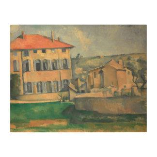 Paul Cezanne - House in Aix Wood Print