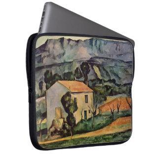 Paul Cezanne- Houses in Provence, near Gardanne Laptop Sleeve
