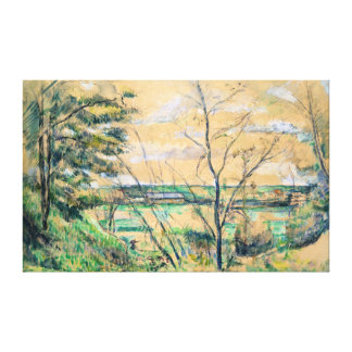 Paul Cezanne In the Oise Valley Canvas Print
