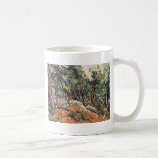 Paul Cezanne - In The Woods Coffee Mugs