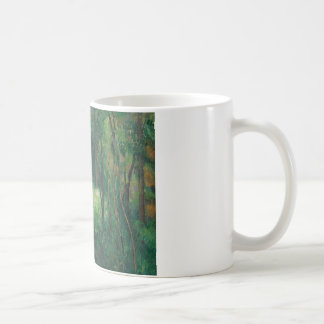 Paul Cezanne - Interior of a Forest Coffee Mug