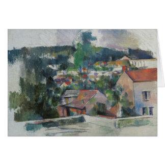 Paul Cezanne - Landscape Card