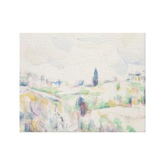Paul Cezanne - Landscape in Provence Canvas Print