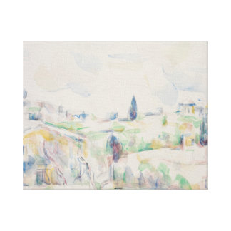 Paul Cezanne - Landscape in Provence Canvas Print