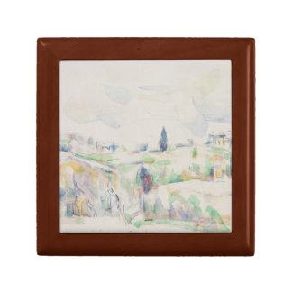 Paul Cezanne - Landscape in Provence Trinket Box