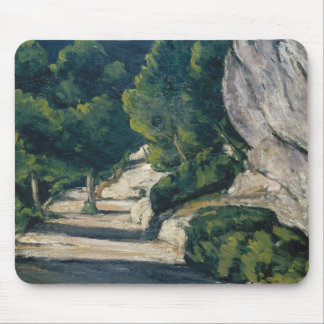 Paul Cezanne - Landscape. Road with Trees in Rocky Mouse Pad