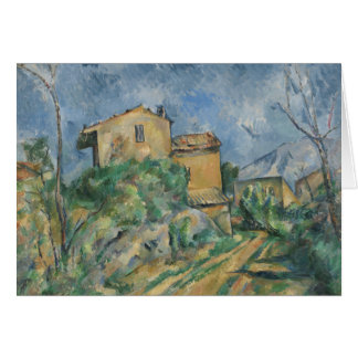 Paul Cezanne - Maison Maria with a View of Chateau Card
