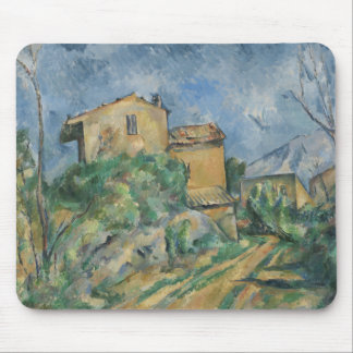 Paul Cezanne - Maison Maria with a View of Chateau Mouse Pad