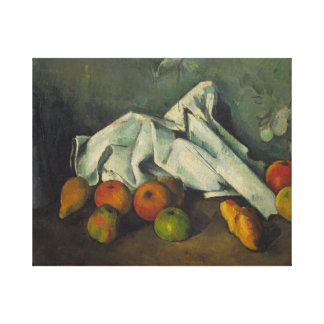 Paul Cezanne - Milk Can and Apples Canvas Print