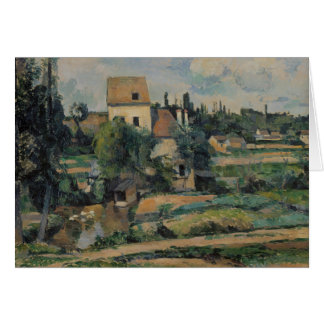 Paul Cezanne - Mill on the Couleuvre at Pontoise Card