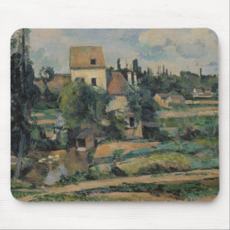 Paul Cezanne - Mill on the Couleuvre at Pontoise Mouse Pad