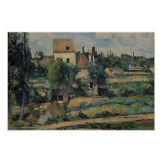 Paul Cezanne - Mill on the Couleuvre at Pontoise Poster
