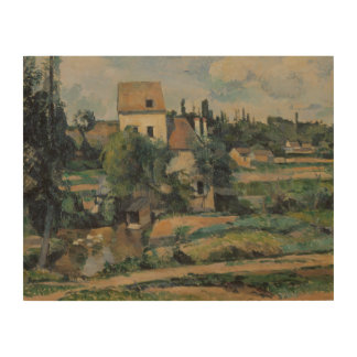 Paul Cezanne - Mill on the Couleuvre at Pontoise Wood Print