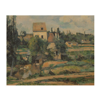 Paul Cezanne - Mill on the Couleuvre at Pontoise Wood Prints