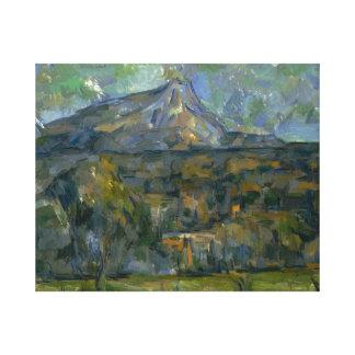 Paul Cezanne - Mont Sainte-Victoire Canvas Print