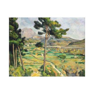 Paul Cezanne Mont Sainte-Victoire Canvas Print