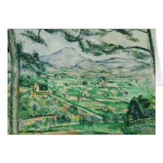 Paul Cezanne - Mont Sainte-Victoire Card