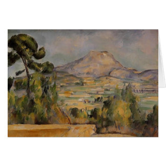 Paul Cezanne- Mont Sainte-Victoire Card