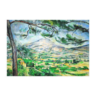 Paul Cézanne, Mont Sainte-Victoire, Courtald Canvas Print