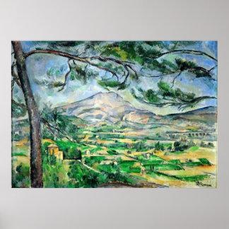 Paul Cézanne, Mont Sainte-Victoire, Courtald Poster